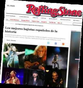 rollingstone.es elige por boleada a Pepe Bao como el mejor bajista de la historia de España