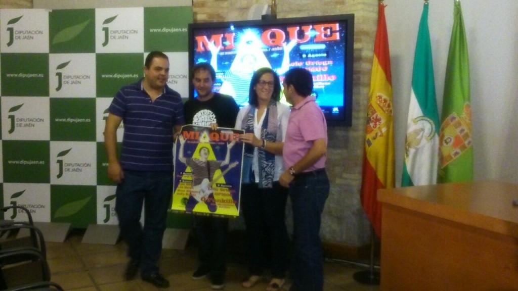 Presentación ante los medios en Jaén