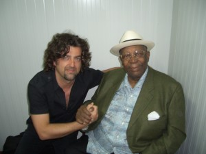 Lolo Ortega y BB King