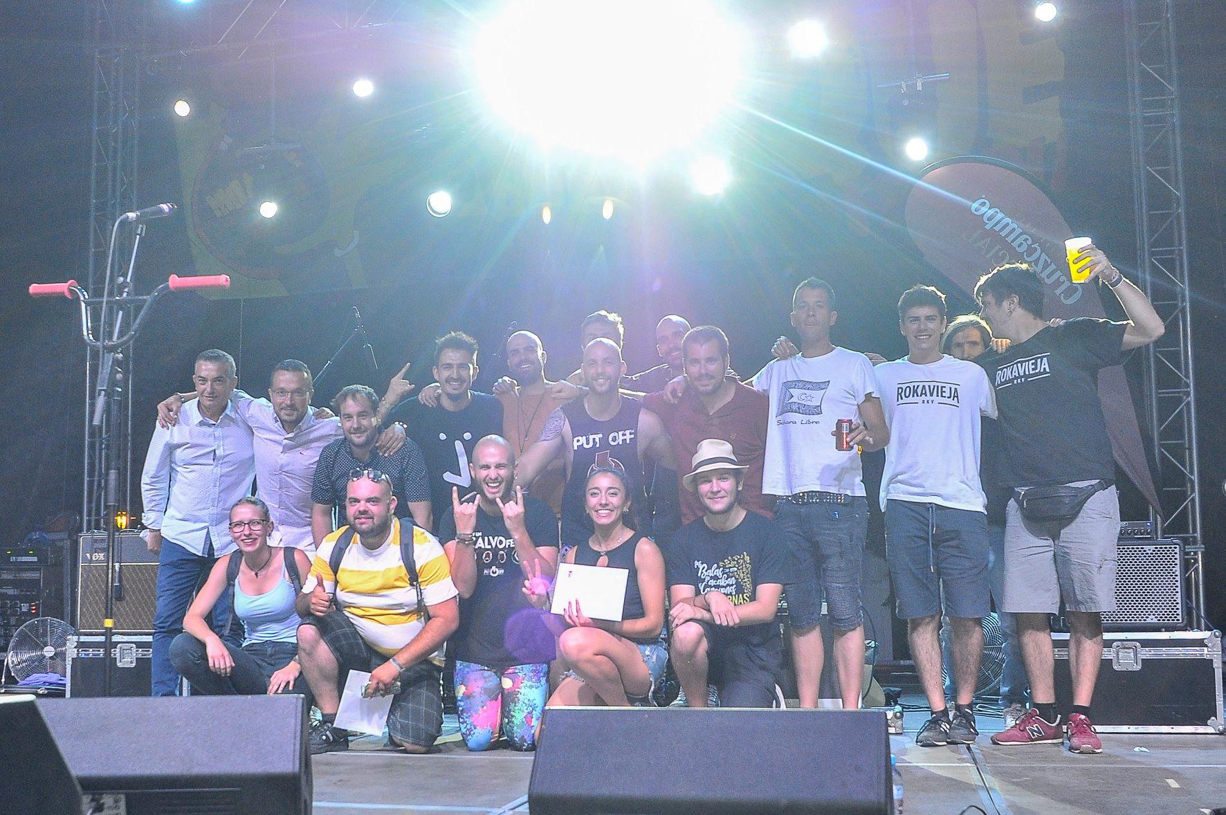 foto de grupo - final cbePorcuna 2019 - miaqueFEST